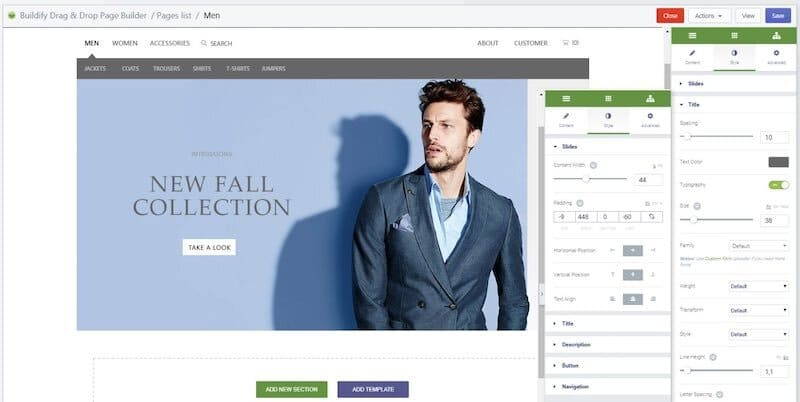 L'application Buildify
