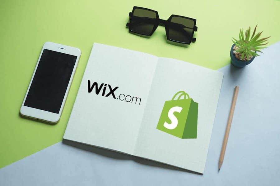 Wix ou Shopify