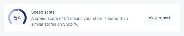 Le nouvel outil de rapport de vitesse de Shopify