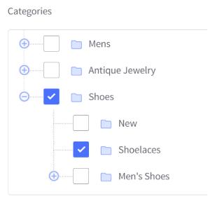 Ajouter des catégories sur BigCommerce