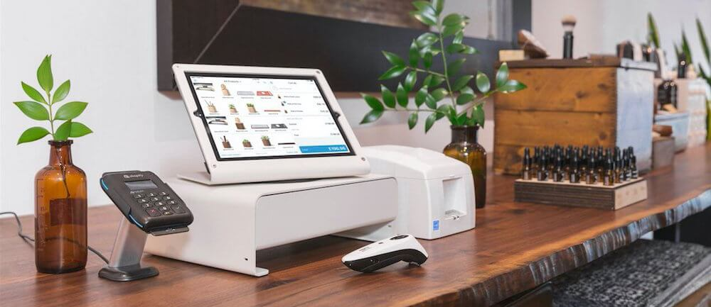 Shopify point-of-sale (POS) hardware