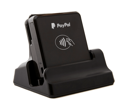 Chip and tap card reader for POS applications.