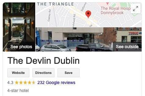 Google star reviews