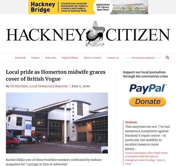 Local press coverage