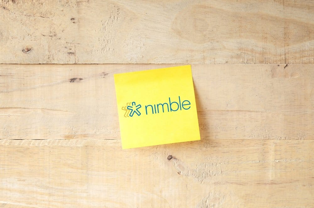 Nimble CRM review (image of the Nimble logo)