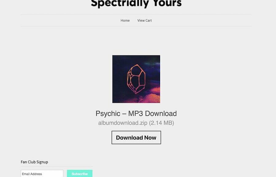 Shopify digital downloads app