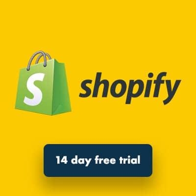 Shopify free trial.
