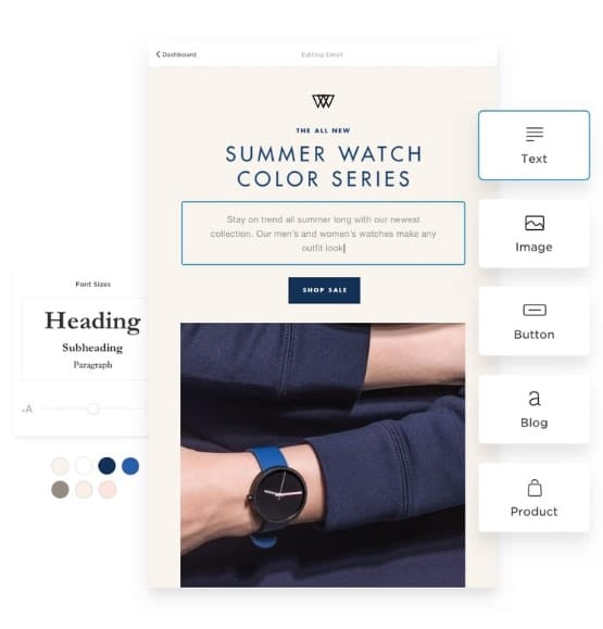 Squarespace's new Email Campaigns feature