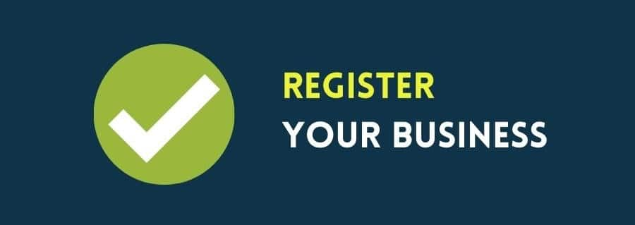 Registering a business