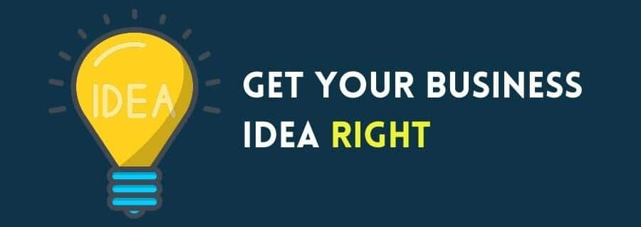 Get your business idea right (infographic)