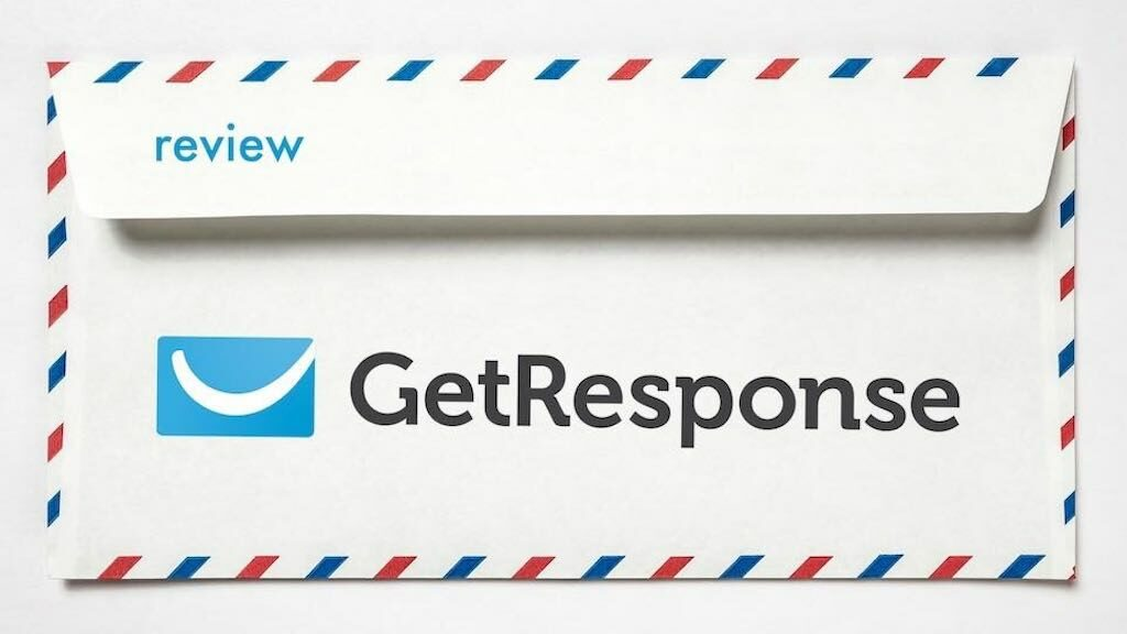 Getresponse review (image of the company logo on an envelope).