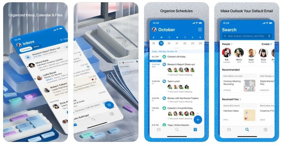 The Microsoft 365 mobile app for Outlook