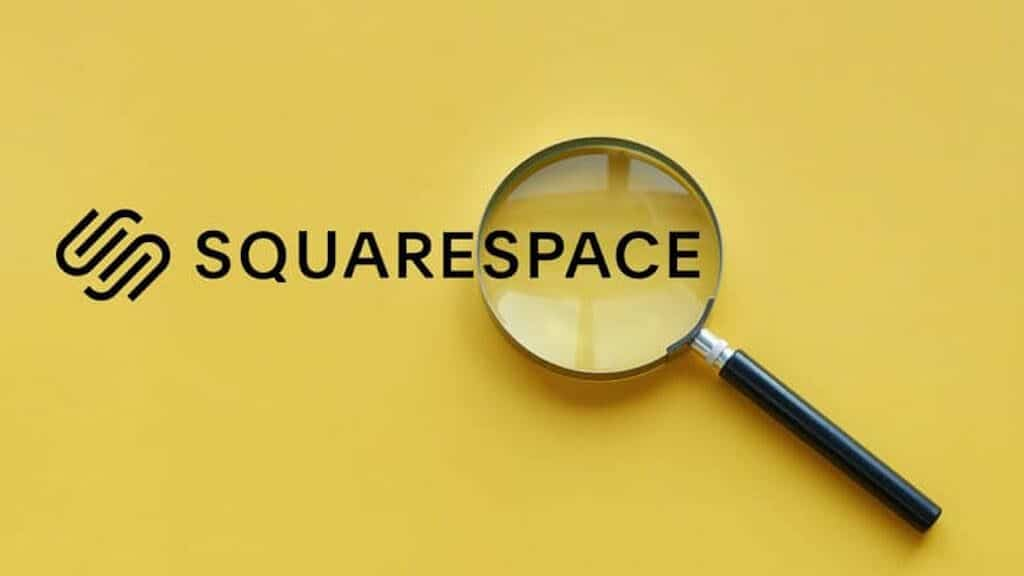 Squarespace SEO (image of the Squarespace logo beside a magnifying glass).