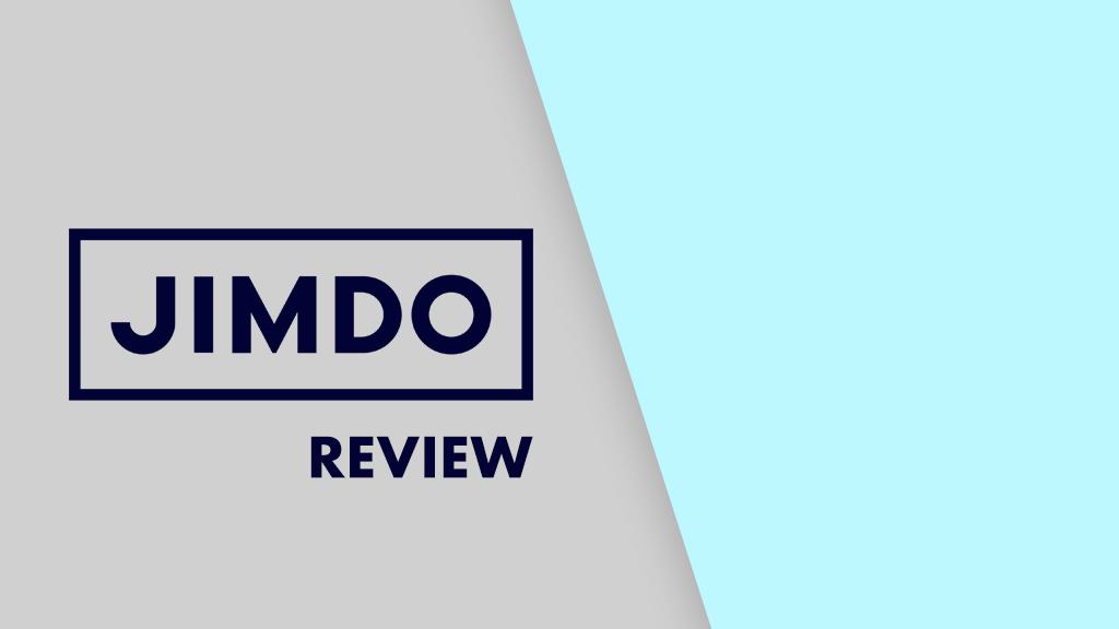 Jimdo review (image of the Jimdo logo)