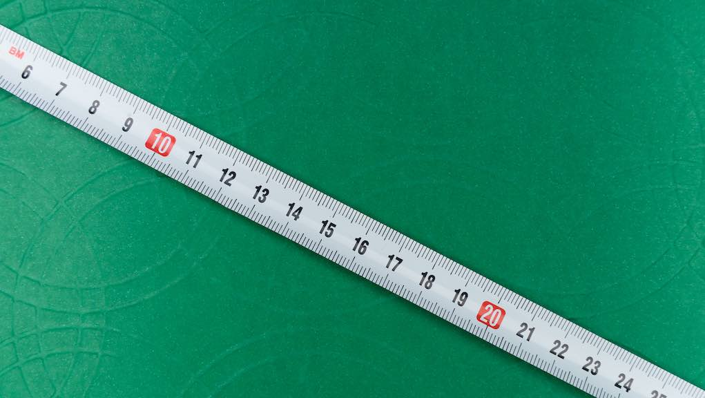 Content length matters (image of a measuring tape)