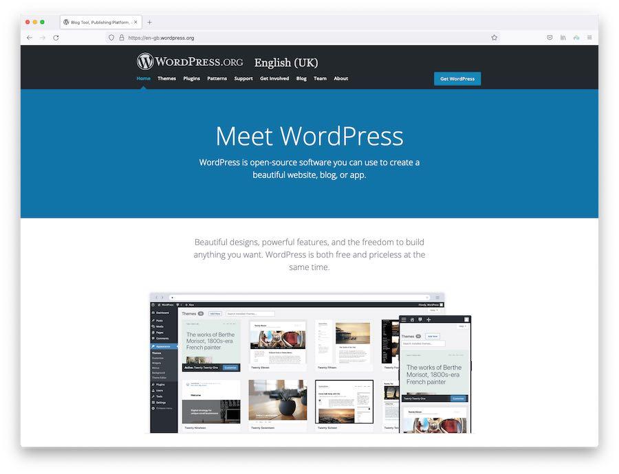 Self-hosted WordPress