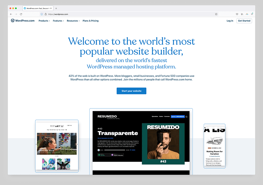 Hosted WordPress